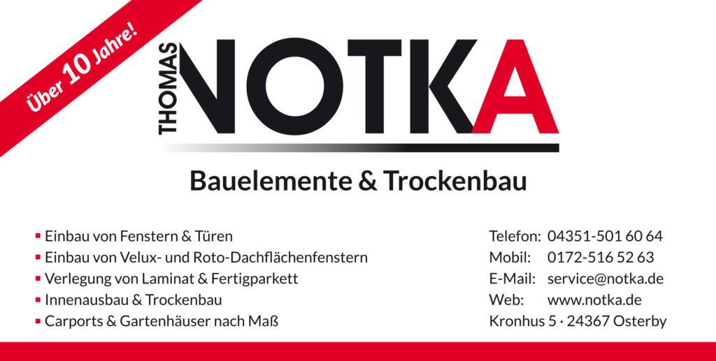 Thomas Notka Bauelemente und Trockenbau